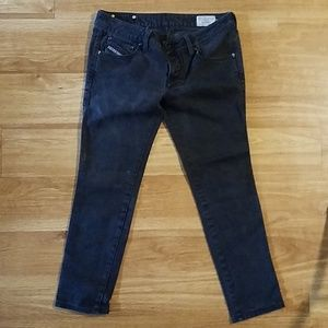 Diesel Black Jeans Cuddie Stretch W30 L30